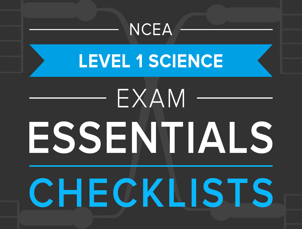 Ncea level 1 science studypass download checklists urtaz Choice Image